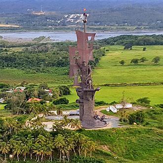tallest statue christopher columbus