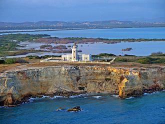 Los Morillos Lighthouse in Playa Sucia, Cabo Rojo, PR