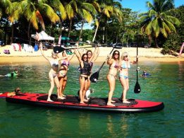 paddle boards Rincon Puerto Rico vacation