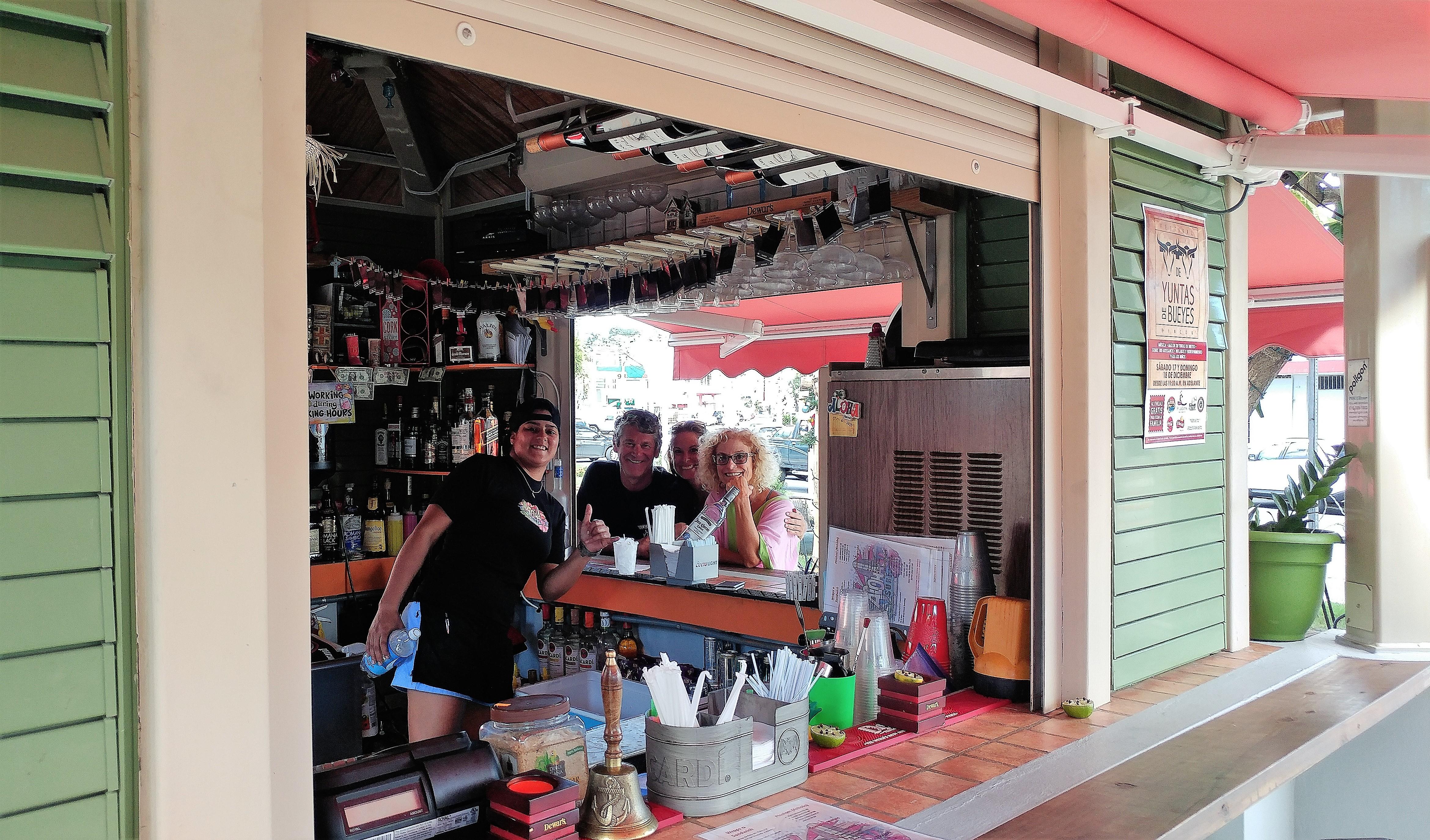 local curbside restaurant in Rincon, PR