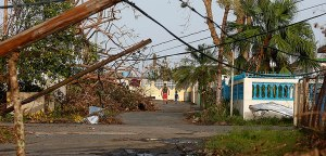 Rincon, PR, USA after Maria